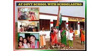 INDEPENDENCE DAY CELEBRATION AT A GOVERNMENT SCHOOL BY SCHOOLASTRO