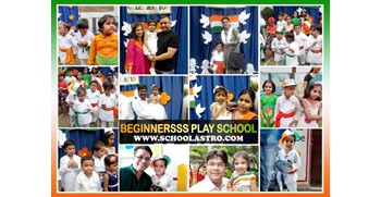 INDEPENDENCE DAY CELEBRATION AT BEGINNERSSS PLAY SCHOOL