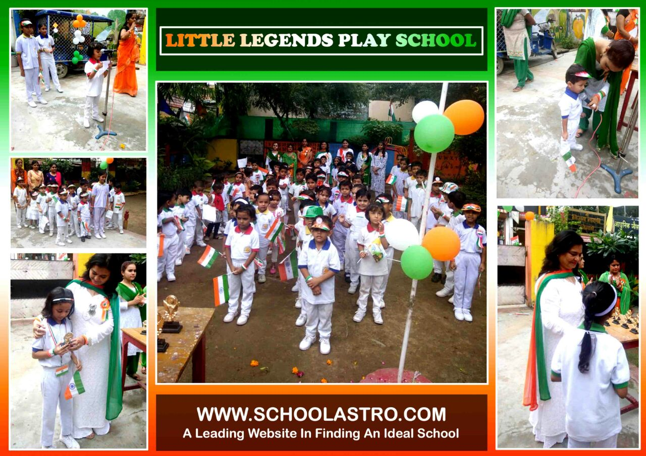 INDEPENDENCE DAY CELEBRATION AT LITTLE LEGENDS PLAY SCHOOL