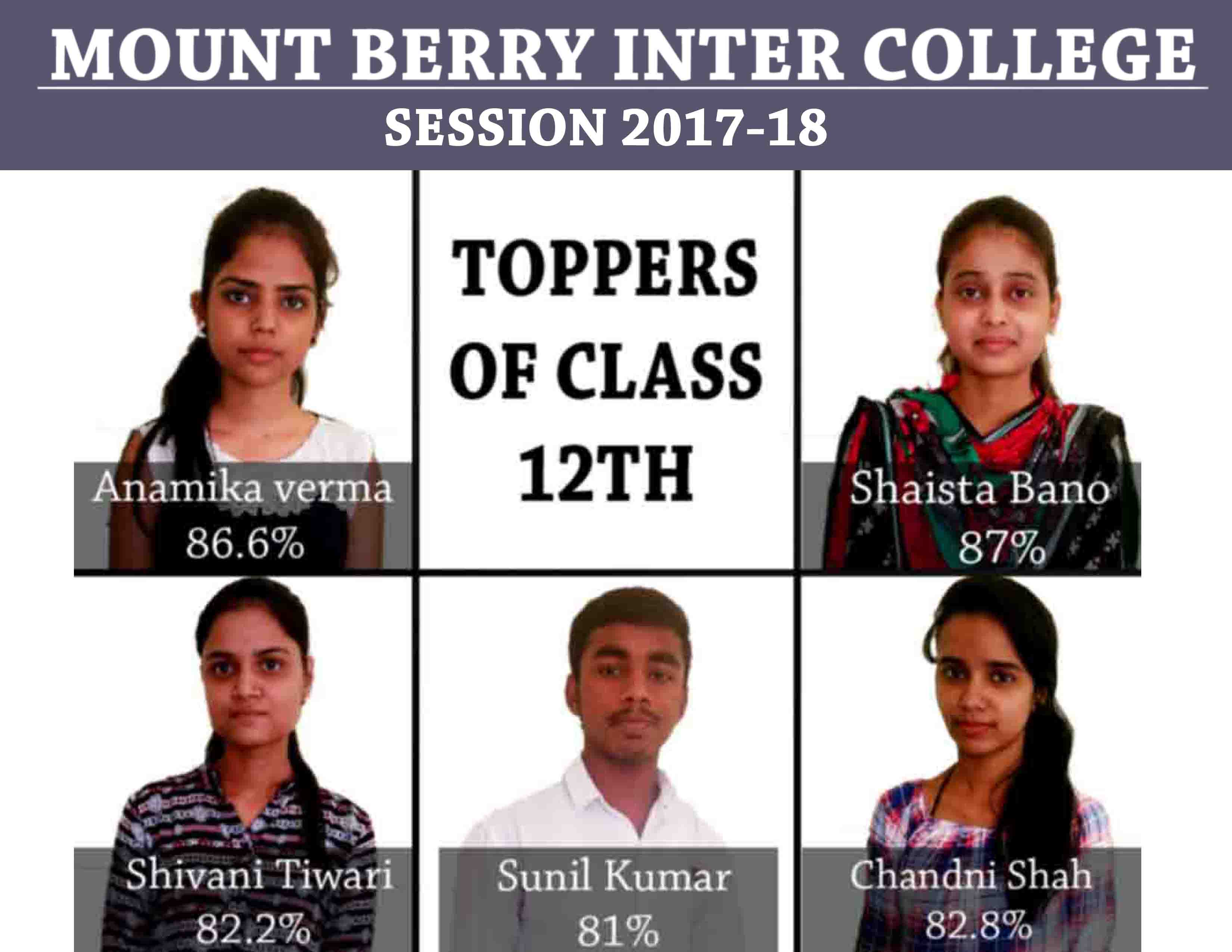 SUCCESS STORY OF MOUNT BERRY INTER COLLEGE