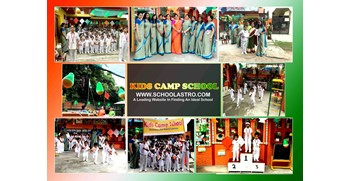 INDEPENDENCE DAY CELEBRATION AT KIDS CAMP PLAY SCHOOL