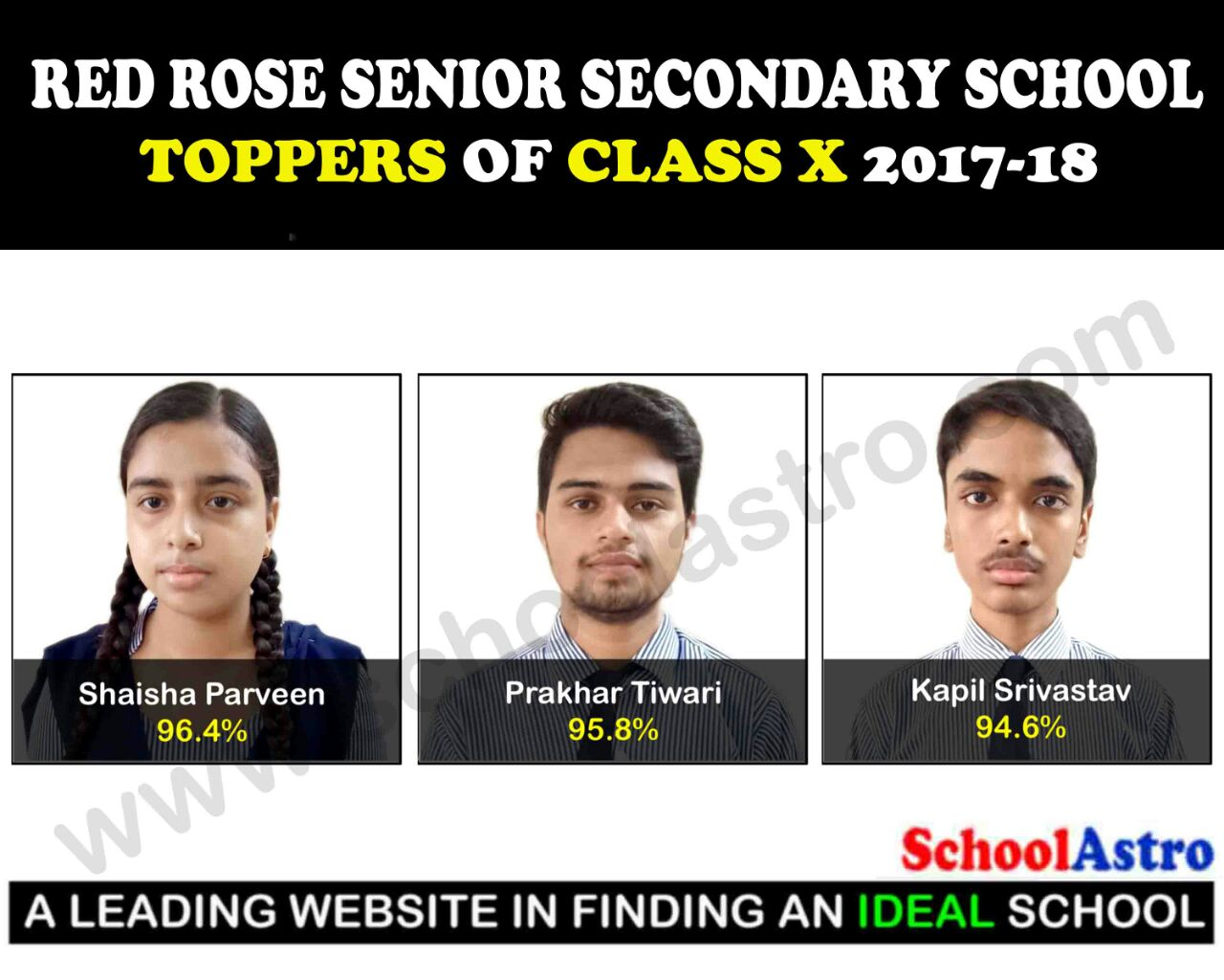 SUCCESS STORY OF RED ROSE SENIOR SECONDARY SCHOOL