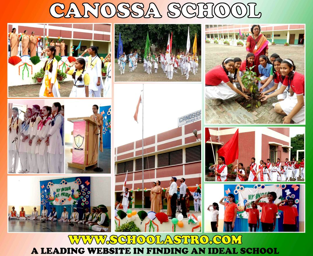 INDEPENDENCE DAY CELEBRATION AT CANOSSA SCHOOL